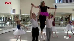 Leslie Horton performs with Alberta Ballet